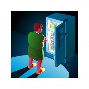 fridge pondering