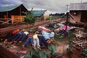 Some of the 912 dead in Jonestown Guyana