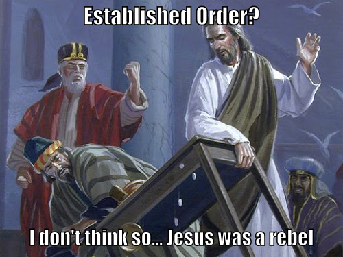 Jesus rebel