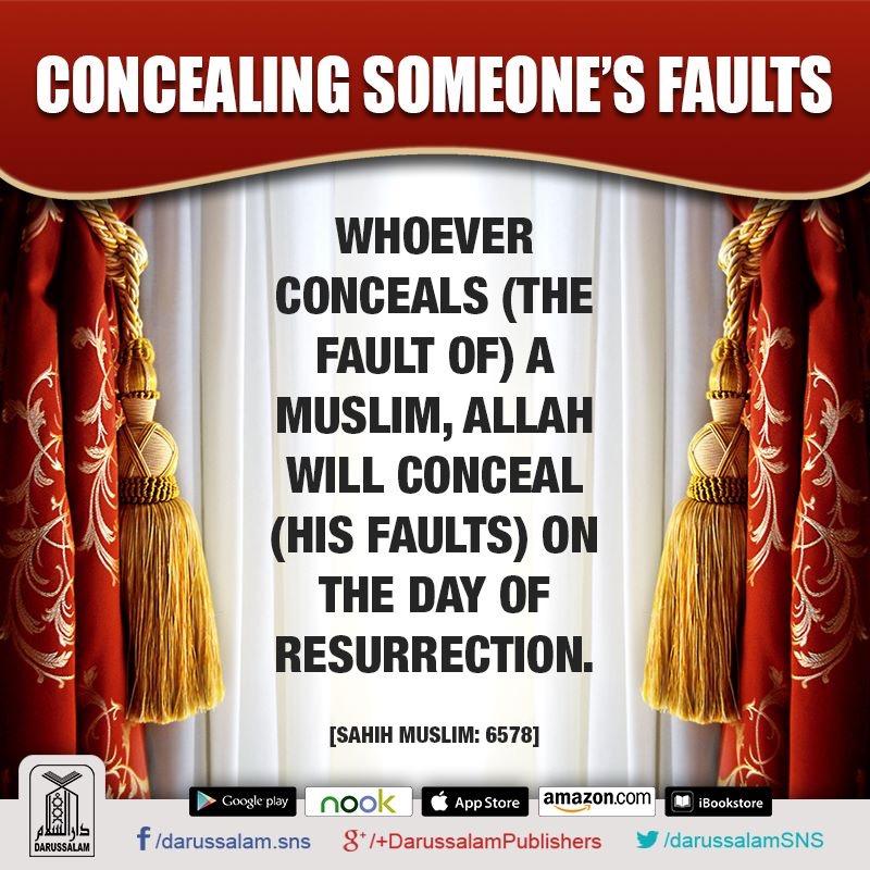 cloaking sins